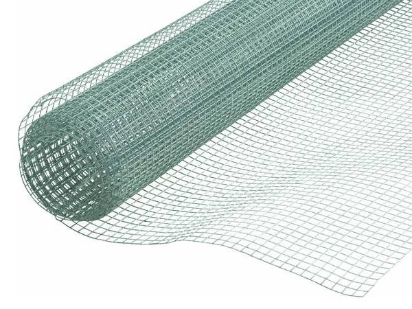 a roll of hot-dipped galvanized welded wire mesh